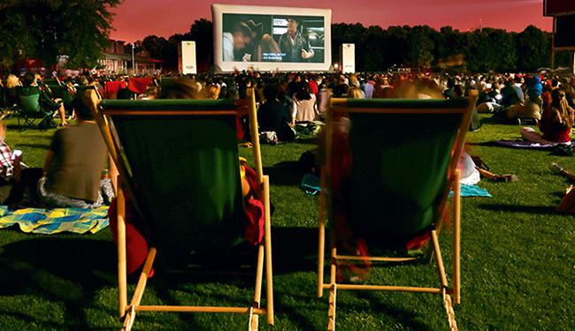 Cinéma en plein air Villette